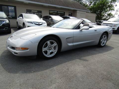 1999 Chevrolet Corvette for sale at 2010 Auto Sales in Troy NY