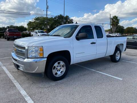 2013 Chevrolet Silverado 1500 for sale at T.S. IMPORTS INC in Houston TX