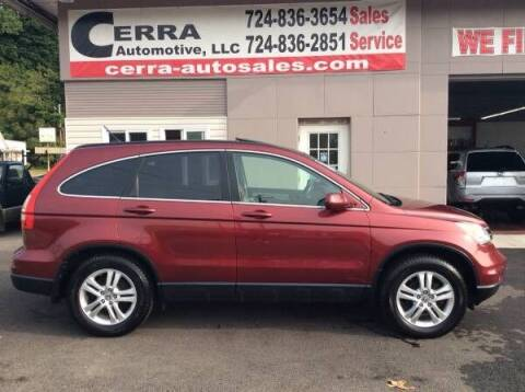 2011 Honda CR-V for sale at Cerra Automotive LLC in Greensburg PA