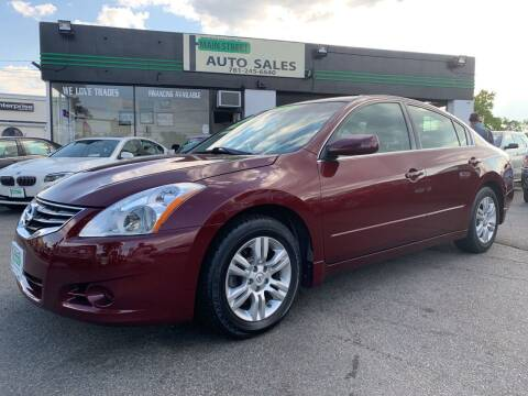 2012 Nissan Altima for sale at Wakefield Auto Sales of Main Street Inc. in Wakefield MA