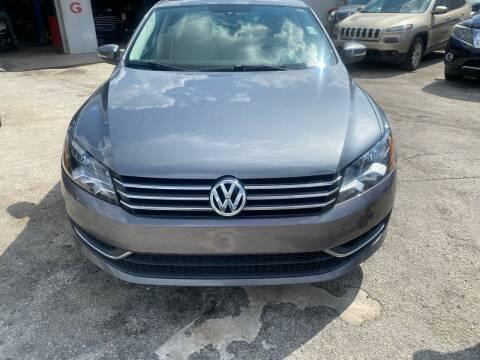 2014 Volkswagen Passat for sale at America Auto Wholesale Inc in Miami FL
