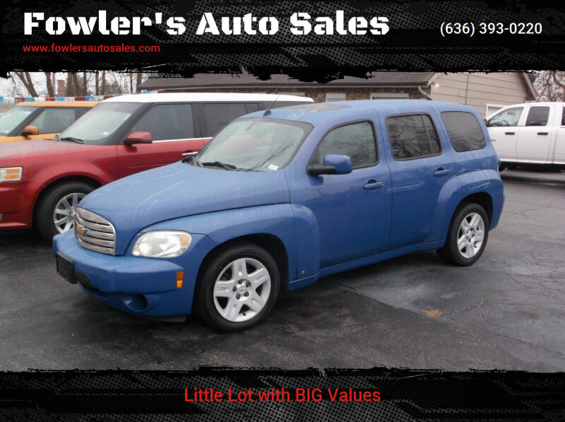 2008 Chevrolet HHR for sale at Fowler's Auto Sales in Pacific MO