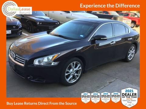2014 Nissan Maxima for sale at Dallas Auto Finance in Dallas TX
