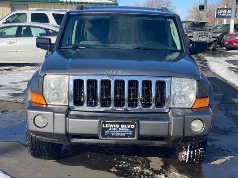 2007 Jeep Commander for sale at Lewis Blvd Auto Sales in Sioux City IA