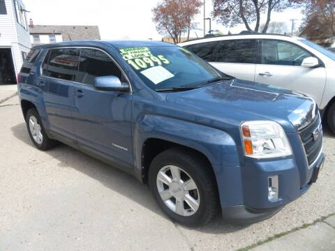 2012 GMC Terrain for sale at Uno's Auto Sales in Milwaukee WI