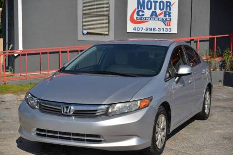 2012 Honda Civic for sale at Motor Car Concepts II - Apopka Location in Apopka FL