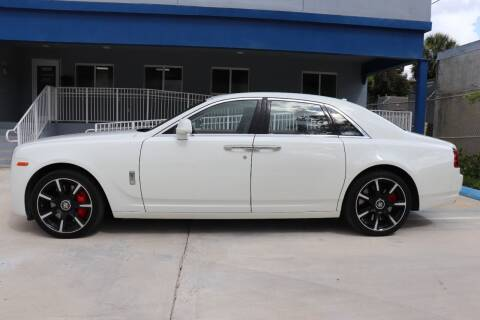 2015 Rolls-Royce Ghost for sale at PERFORMANCE AUTO WHOLESALERS in Miami FL