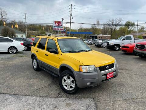 2001 Ford Escape for sale at KB Auto Mall LLC in Akron OH