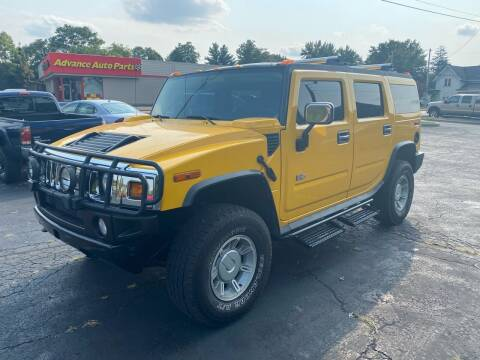 2004 HUMMER H2 for sale at MARK CRIST MOTORSPORTS in Angola IN