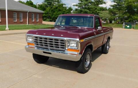 1978 Ford F-150 for sale at WEST PORT AUTO CENTER INC in Fenton MO