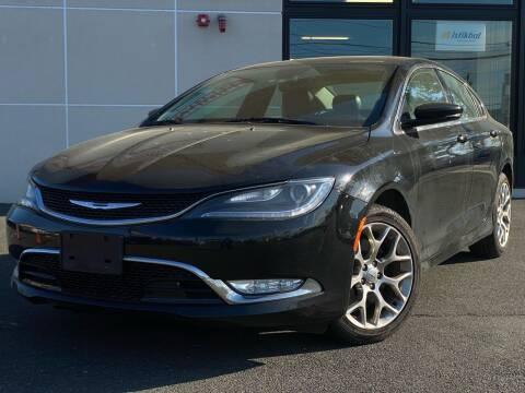 2015 Chrysler 200 for sale at MAGIC AUTO SALES in Little Ferry NJ
