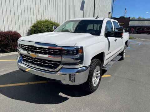 2018 Chevrolet Silverado 1500 for sale at DAVENPORT MOTOR COMPANY in Davenport WA