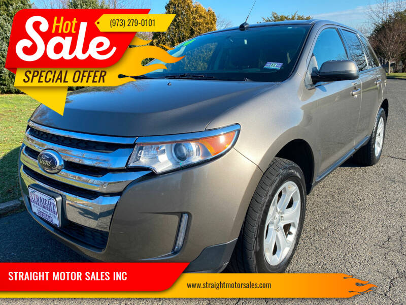 2014 Ford Edge for sale at STRAIGHT MOTOR SALES INC in Paterson NJ