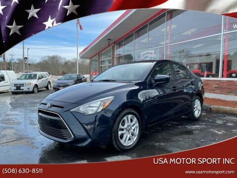 2017 Toyota Yaris iA for sale at USA Motor Sport inc in Marlborough MA