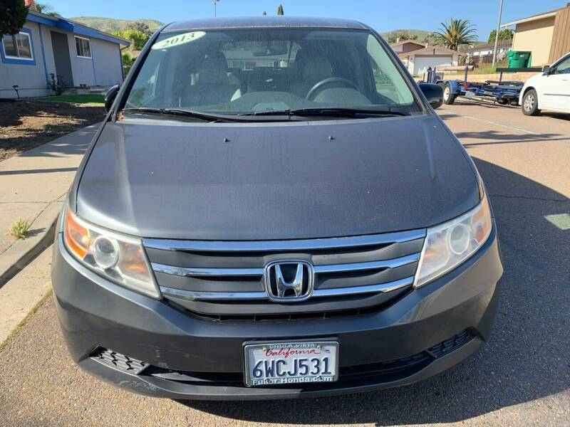 2013 Honda Odyssey for sale at Aria Auto Sales in El Cajon CA