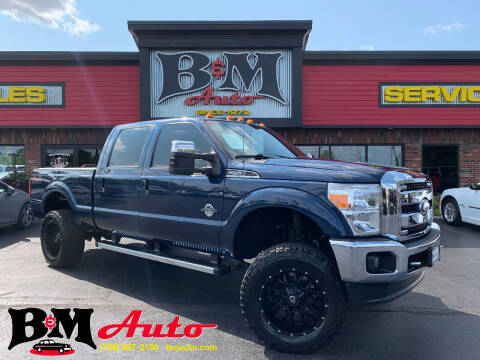 2013 Ford F-250 Super Duty for sale at B & M Auto Sales Inc. in Oak Forest IL