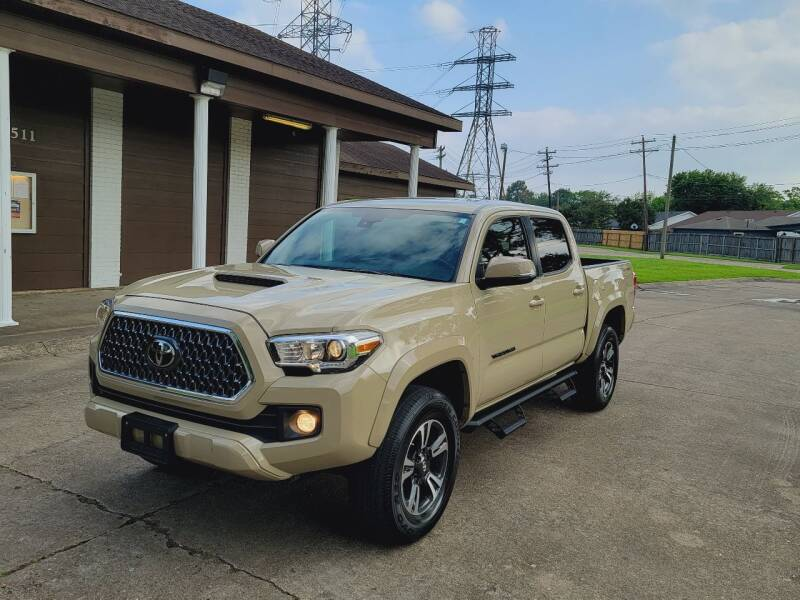 2019 Toyota Tacoma for sale at MOTORSPORTS IMPORTS in Houston TX