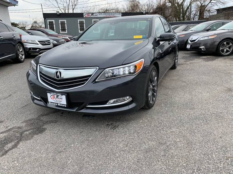 2016 Acura RLX for sale in Baltimore, MD