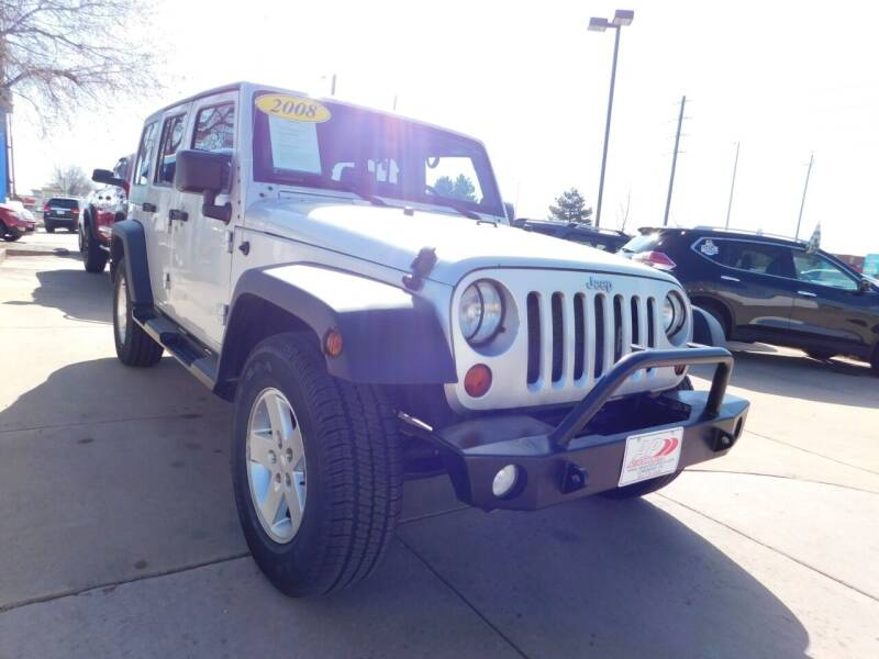 2008 Jeep Wrangler Unlimited for sale at AP Auto Brokers in Longmont CO