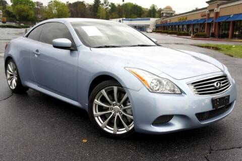 2009 Infiniti G37 Convertible for sale at CU Carfinders in Norcross GA