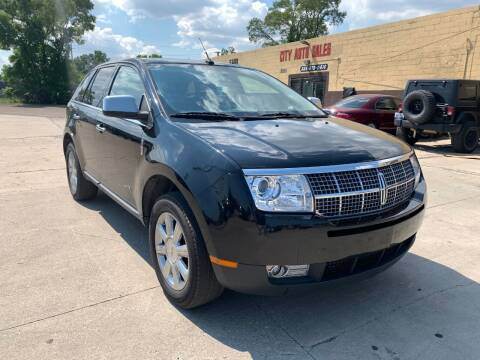 2009 Lincoln MKX for sale at City Auto Sales in Roseville MI