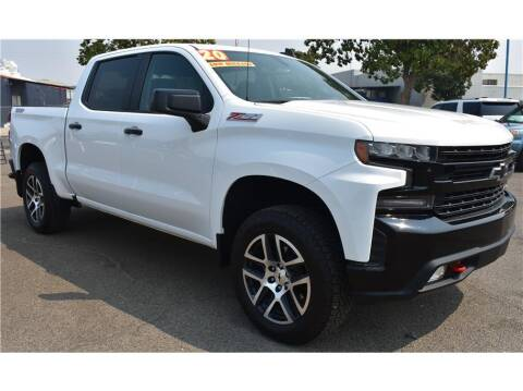 2020 Chevrolet Silverado 1500 for sale at ATWATER AUTO WORLD in Atwater CA