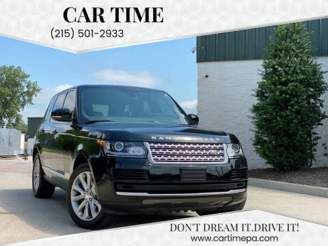 2014 Land Rover Range Rover for sale at Car Time in Philadelphia PA