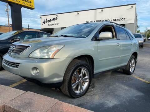 2006 Lexus RX 400h for sale at Abrams Automotive Inc in Cincinnati OH