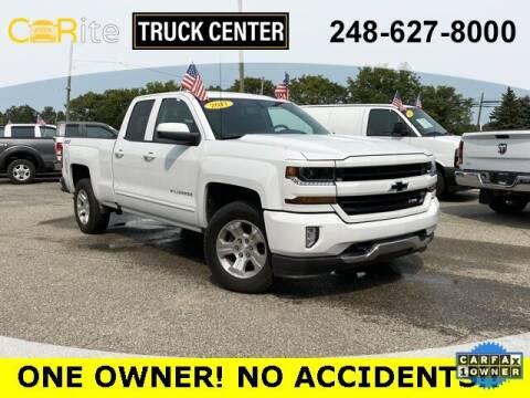 2017 Chevrolet Silverado 1500 for sale at Carite Truck Center in Ortonville MI