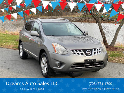 2011 Nissan Rogue for sale at Dreams Auto Sales LLC in Leesburg VA