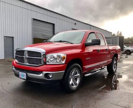 2008 Dodge Ram Pickup 1500 for sale at DASH AUTO SALES LLC in Salem OR