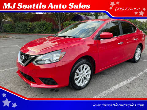 2018 Nissan Sentra for sale at MJ Seattle Auto Sales in Kent WA