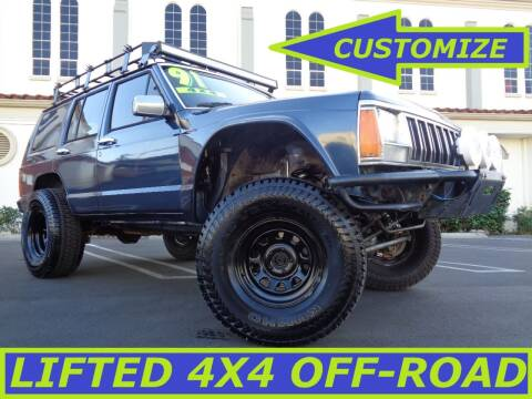 1991 Jeep Cherokee for sale at ALL STAR TRUCKS INC in Los Angeles CA