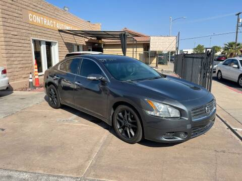 2009 Nissan Maxima for sale at CONTRACT AUTOMOTIVE in Las Vegas NV
