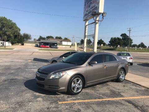 2010 Chevrolet Malibu for sale at Patriot Auto Sales in Lawton OK