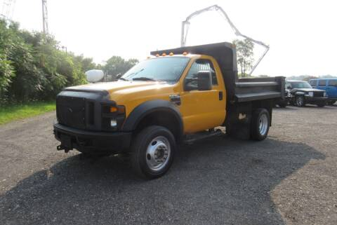 2008 Ford F-550 Super Duty for sale at Clearwater Motor Car in Jamestown NY