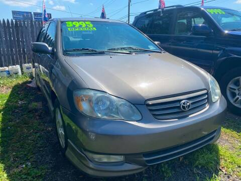 2003 Toyota Corolla for sale at GRAND USED CARS  INC in Little Ferry NJ