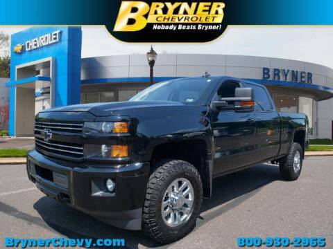 2018 Chevrolet Silverado 2500HD for sale at BRYNER CHEVROLET in Jenkintown PA