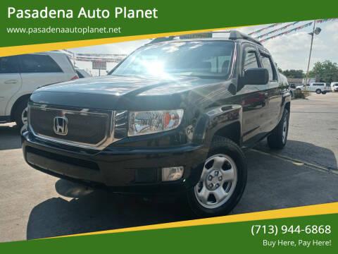 2011 Honda Ridgeline for sale at Pasadena Auto Planet in Houston TX