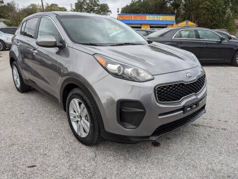 2017 Kia Sportage for sale at PREMIER MOTORS OF PEARLAND in Pearland TX