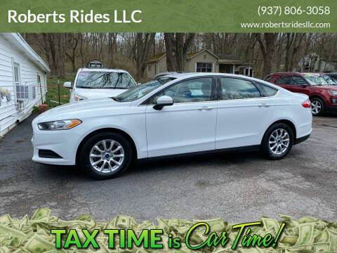 2016 Ford Fusion for sale at Roberts Rides LLC in Franklin OH