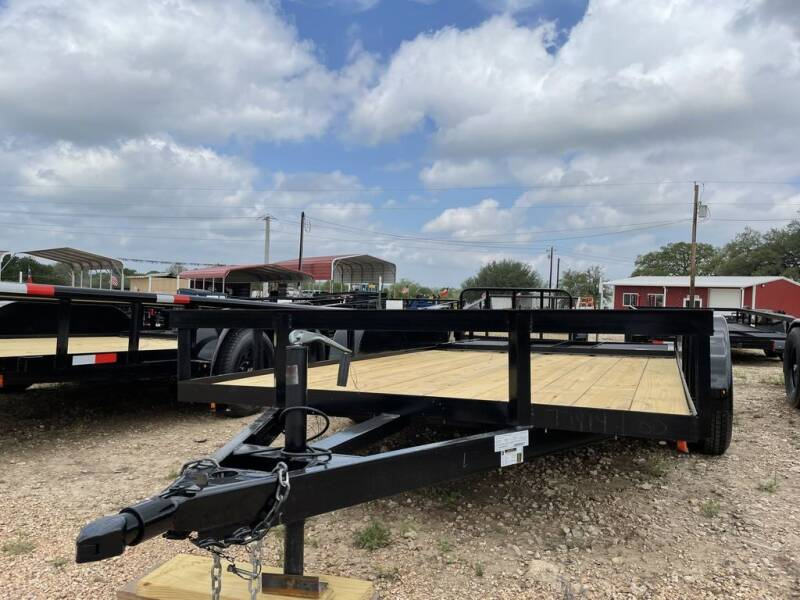 """2021 P & C  - UTILITY 77"""" X 16' - IN for sale at LJD Sales in Lampasas TX"""