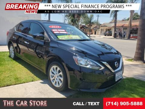 2018 Nissan Sentra for sale at The Car Store in Santa Ana CA