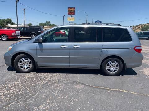 2007 Honda Odyssey for sale at University Auto Sales in Cedar City UT
