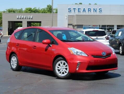 2014 Toyota Prius v for sale at Stearns Ford in Burlington NC