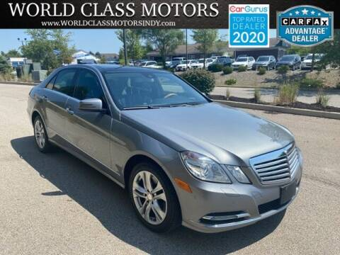 2011 Mercedes-Benz E-Class for sale at World Class Motors LLC in Noblesville IN