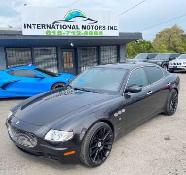 2007 Maserati Quattroporte for sale at International Motors Inc. in Nashville TN