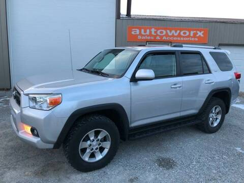2011 Toyota 4Runner for sale at AutoWorx Sales in Columbia City IN