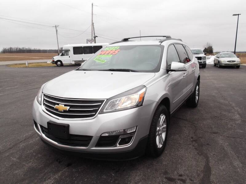 2014 Chevrolet Traverse for sale at Dietsch Sales & Svc Inc in Edgerton OH