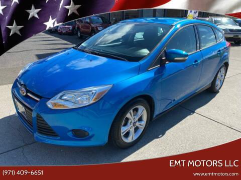 2014 Ford Focus for sale at EMT MOTORS LLC in Portland OR